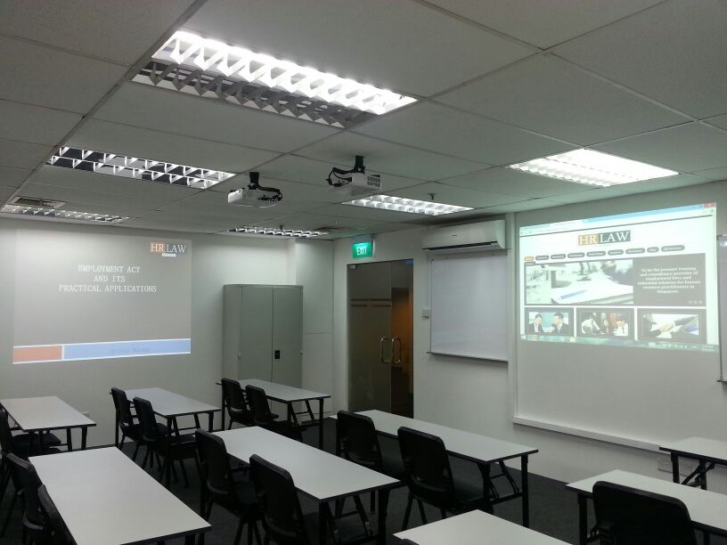 Training room rental with projector