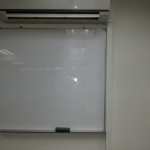 whiteboard as part of training room rental package