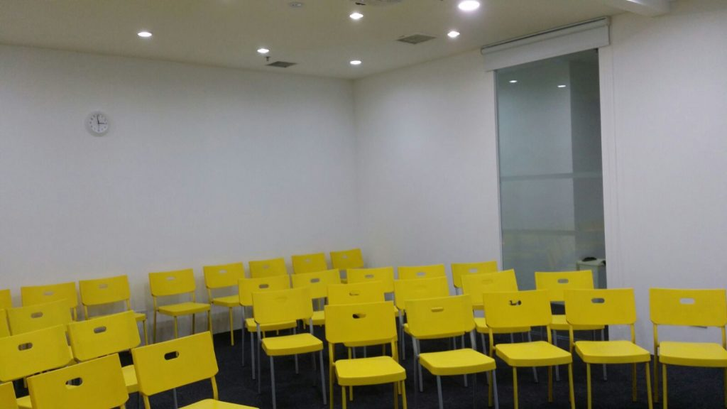 seminar room rental seating