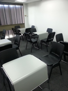 Cluster seating - Training room rental