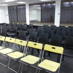 Seminar room seating 4