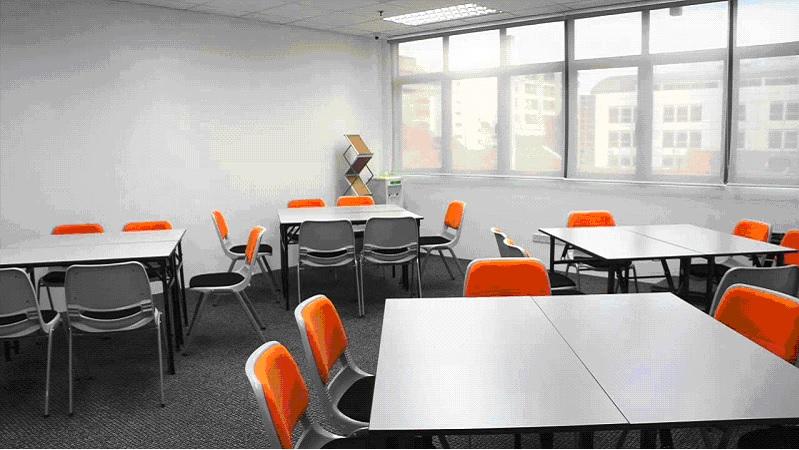 Training room arrangement