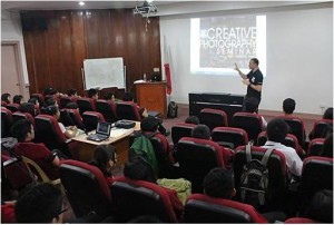 Training room seminar class ongoing